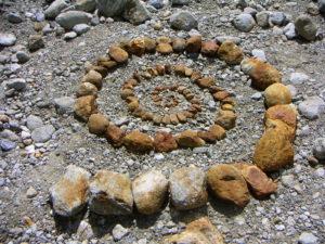 Stone spyral