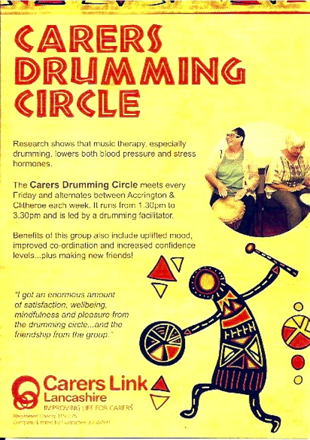 Carers' Drumming Circle