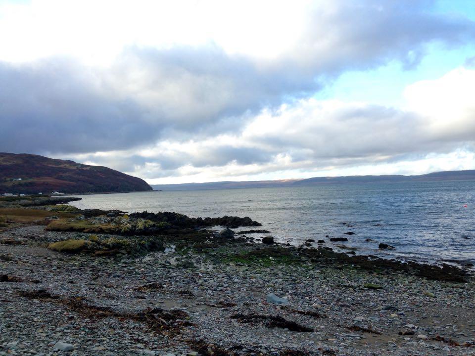 Seashore, sound of hope